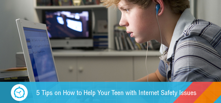 Tips on How to Help Your Teen with Internet Safety Issues