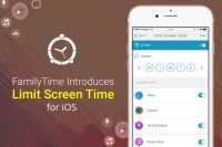 Another Day; Another Feature : FamilyTime Introduces Limit Screen Time for iOS