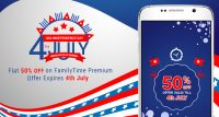 Join Us for the Fireworks! – Get FamilyTime Premium at 50% Off this Independence Day!