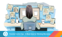 Why All Working Mothers Must Use A Parental Control App For Their Kids!